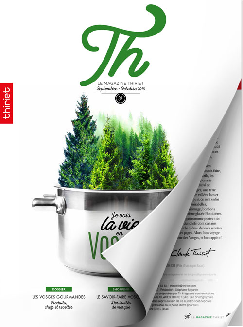 Th® n°37 - septembre-octobre 2018 - Je vois la vie en Vosges