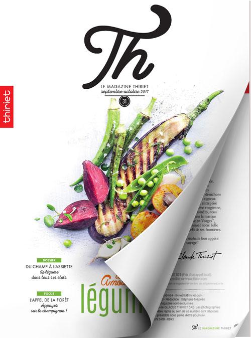 Th® n°31 - septembre-octobre 2017 - Des amours de légumes