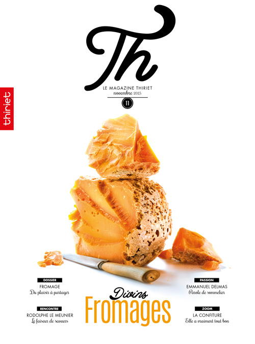 Th® n°11 - novembre 2015 - Divins Fromages