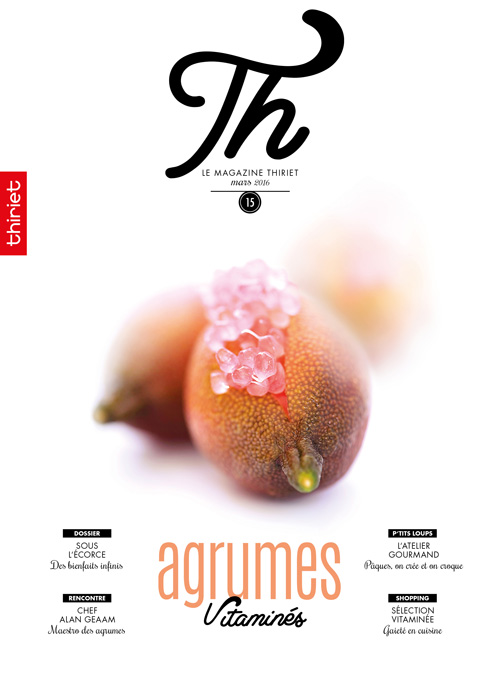 Th® n°15 - mars 2016 - Agrumes Vitaminés