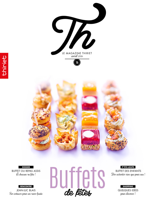 Th® n°16 - avril 2016 - Buffets de fêtes