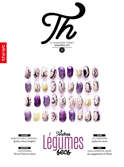 Th® n°22 - novembre 2016 - Tendres Légumes secs