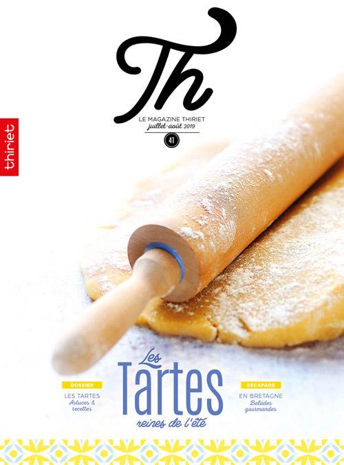 Th n°41 - juillet-août 2019 - Les tartes reines de l'été