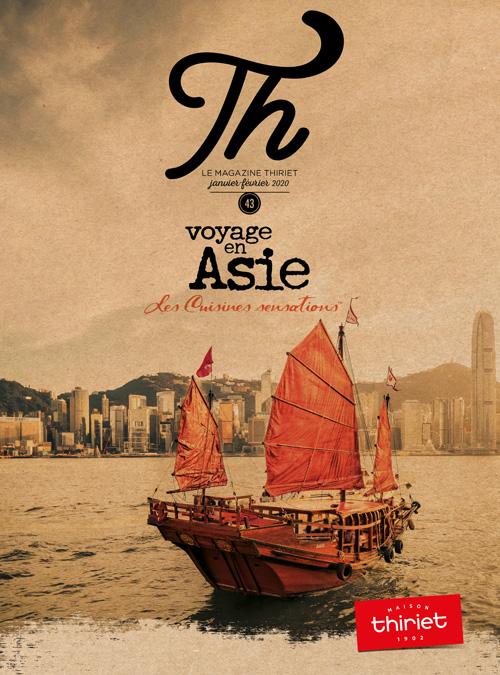 Th® n°43 - janvier-février 2020 - Voyage en asie