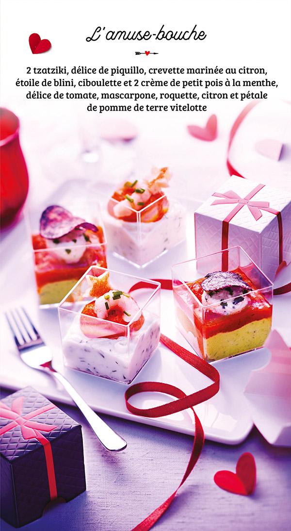 Mises en bouche cadeaux saint valentin